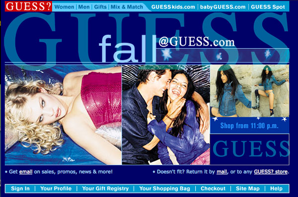 Guess Website