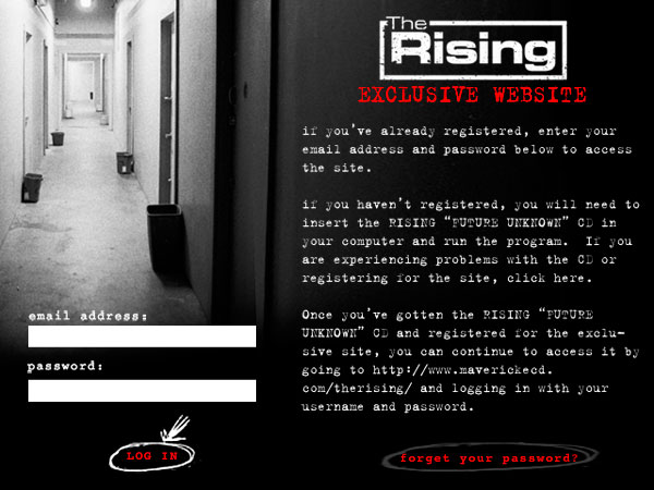 The Rising - eCD
